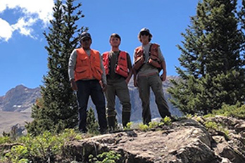 HGTC Forestry & Wildlife Students Working in Montana This Summer
