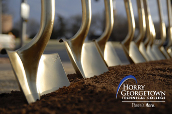 Groundbreaking ceremony for the Georgetown Center for Advanced Manufacturing