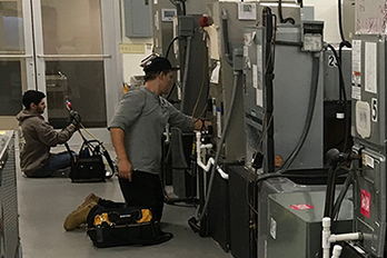 HVAC Companies Facing Technician Shortage; HGTC Bridging the Gap
