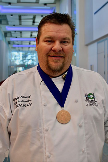Chef Blount with Jefferson Award