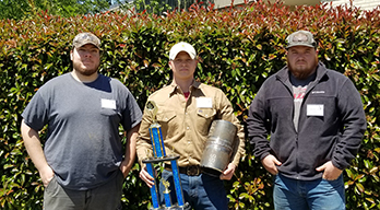 HGTC Welding Students Compete in State Welding Skills Competition