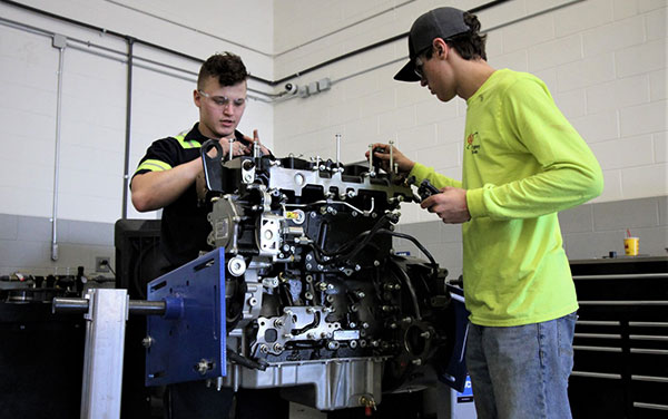 Diesel Engine Students