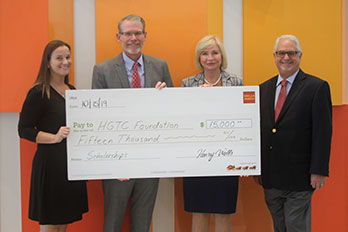 HGTC Foundation Receives Wells Fargo Endowment Funding