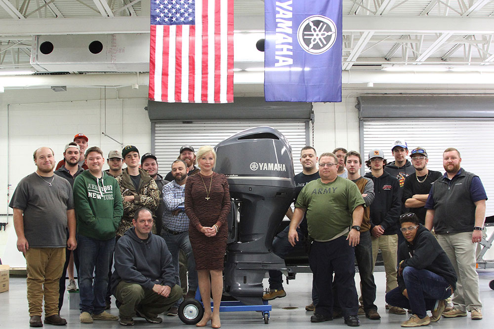 HGTC Receives Another Generous Gift from Yamaha Marine