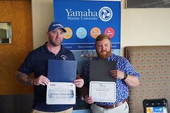 First Class of Outboard Marine Technology Graduates
