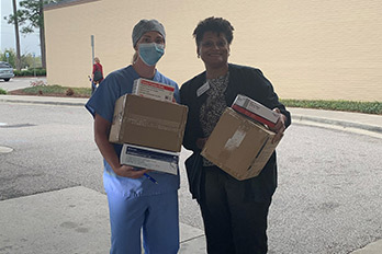 HGTC Donates Personal Protective Equipment to Healthcare Facilities