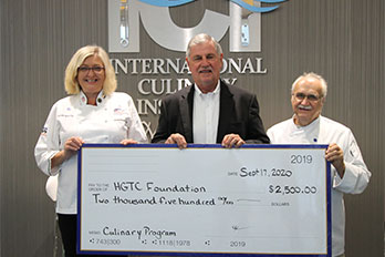 HGTC presented check