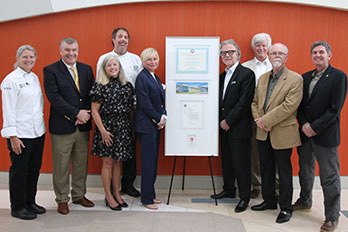 HGTC presented LEED award