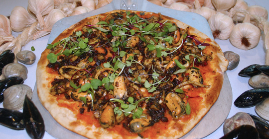 seafood pizza