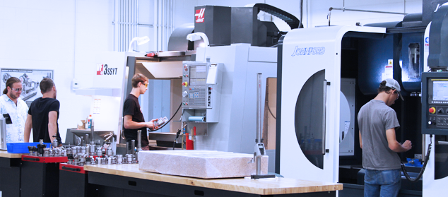 machine tool and cnc technology degree programs