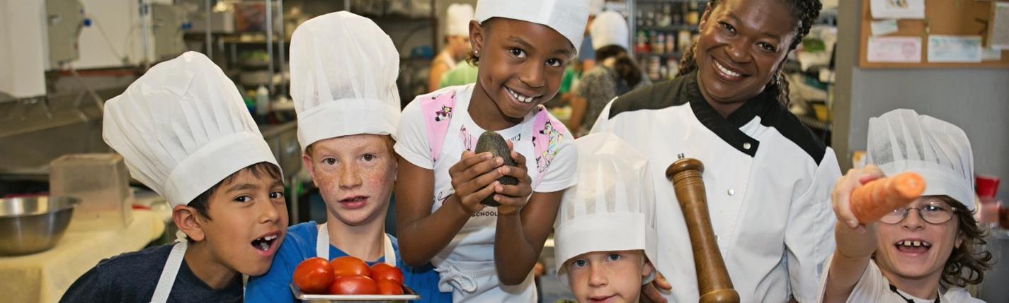 Grow creatively through culinary arts