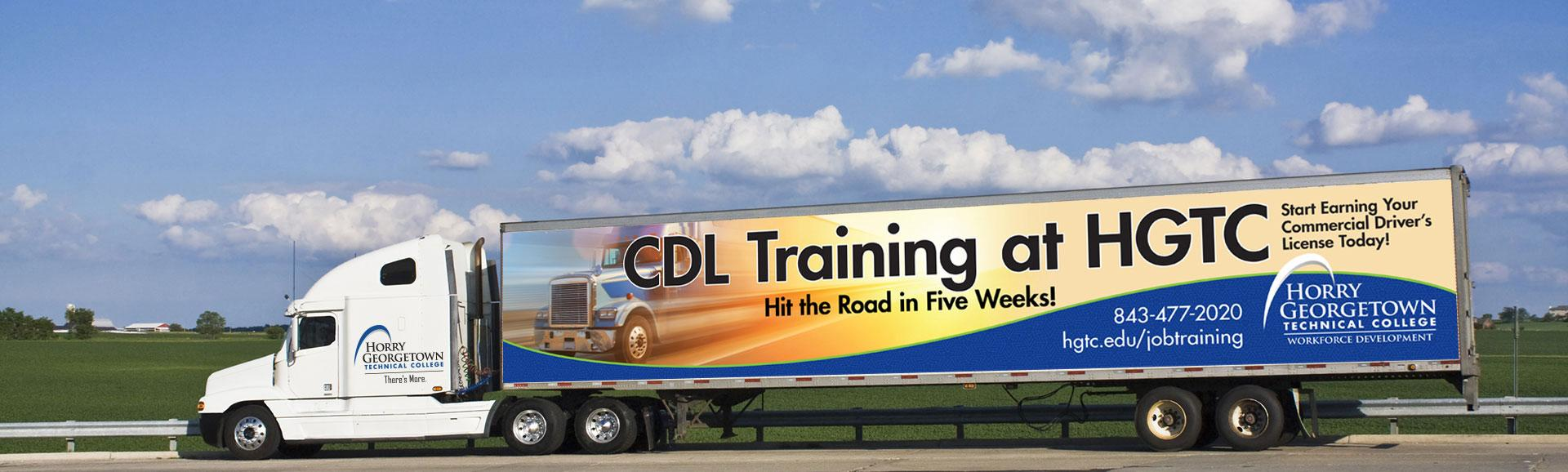 Are you interested in the trucking industry and want your CDL?  Get trained in just 5 weeks!